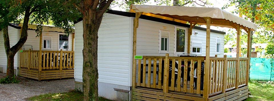 <b>Mobile Home confort</b> - Idéeal, avec tout le confort.