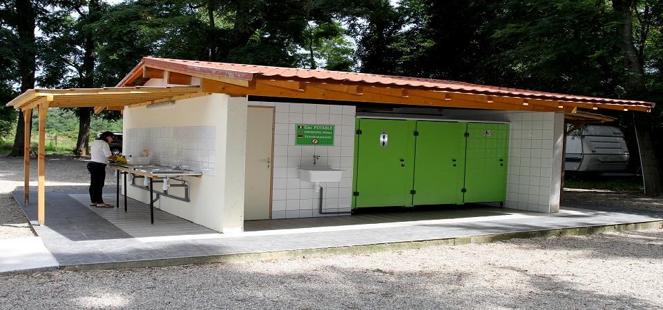 <b>Le bloc sanitaire N° II </b>